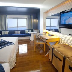 Отель Jomtien Palm Beach Hotel And Resort Таиланд, Паттайя - 10 отзывов об отеле, цены и фото номеров - забронировать отель Jomtien Palm Beach Hotel And Resort онлайн комната для гостей фото 4