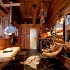 Отель Engholm Husky Design Lodge спа