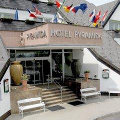 Отель Lazensky Hotel Pyramida I Чехия, Франтишкови-Лазне - отзывы, цены и фото номеров - забронировать отель Lazensky Hotel Pyramida I онлайн приотельная территория