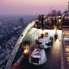 Отель Banyan Tree Bangkok Бангкок балкон