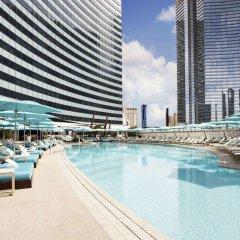 Отель Vdara Suites by AirPads США, Лас-Вегас - отзывы, цены и фото номеров - забронировать отель Vdara Suites by AirPads онлайн бассейн