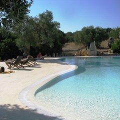 Отель Masseria Quis Ut Deus Криспьяно бассейн