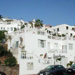 Отель Casablanca Apartamentos Морро Жабле парковка