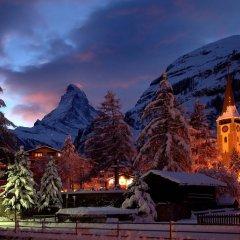 Отель Swiss Alpine Hotel Allalin Швейцария, Церматт - отзывы, цены и фото номеров - забронировать отель Swiss Alpine Hotel Allalin онлайн фото 3
