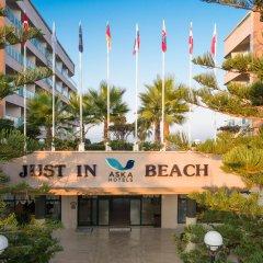 Отель Aska Just In Beach – All Inclusive