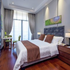 Отель Yimin Gold Olives Apartment Китай, Шэньчжэнь - отзывы, цены и фото номеров - забронировать отель Yimin Gold Olives Apartment онлайн комната для гостей