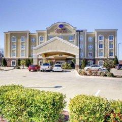 Отель Comfort Suites Vicksburg парковка