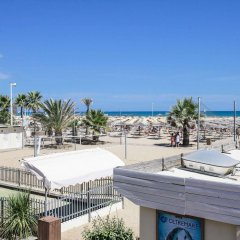 Отель Residence Siesta Италия, Римини - отзывы, цены и фото номеров - забронировать отель Residence Siesta онлайн пляж