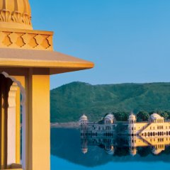 Отель Trident, Jaipur балкон