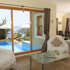 Villa Kalamaki Турция, Калкан - отзывы, цены и фото номеров - забронировать отель Villa Kalamaki онлайн комната для гостей фото 5