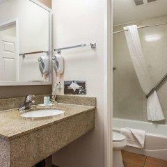 Отель Comfort Inn Los Angeles Лос-Анджелес ванная