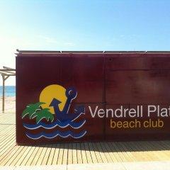 Отель Camping Vendrell Platja пляж фото 2