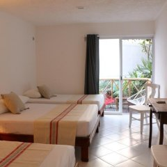 Отель Villa Tulum Hotel Италия, Рим - отзывы, цены и фото номеров - забронировать отель Villa Tulum Hotel онлайн комната для гостей фото 3