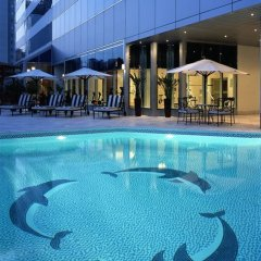Отель CORNICHE Абу-Даби бассейн фото 2