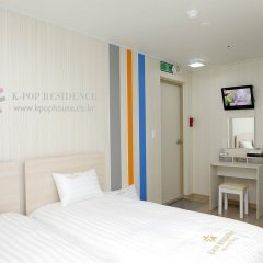 Отель K-Pop Residence Myeong Dong Ii Сеул комната для гостей фото 2