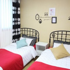 Fortune Hostel Jongno комната для гостей