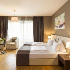 Empress Hotel Мюнхен комната для гостей фото 2