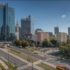 Отель P&O Apartments Prosta Польша, Варшава - отзывы, цены и фото номеров - забронировать отель P&O Apartments Prosta онлайн балкон