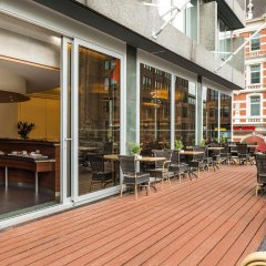 Отель NH Amsterdam Caransa балкон