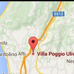Отель Villa Poggio Ulivo B&B Relais Риволи-Веронезе городской автобус