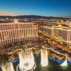 Отель Nobu Hotel at Caesars Palace США, Лас-Вегас - отзывы, цены и фото номеров - забронировать отель Nobu Hotel at Caesars Palace онлайн балкон