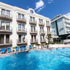 Отель Ambassador Италия, Римини - 1 отзыв об отеле, цены и фото номеров - забронировать отель Ambassador онлайн бассейн фото 3
