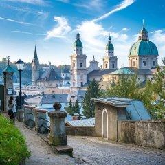 Отель arte Hotel Salzburg Австрия, Зальцбург - отзывы, цены и фото номеров - забронировать отель arte Hotel Salzburg онлайн приотельная территория