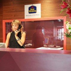 Отель Best Western Hotel de Paris Франция, Лаваль - отзывы, цены и фото номеров - забронировать отель Best Western Hotel de Paris онлайн интерьер отеля фото 2