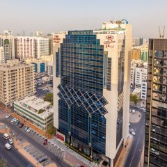 Отель Crowne Plaza Abu Dhabi балкон