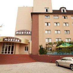 Гостиничный комплекс Моряк Мариуполь парковка