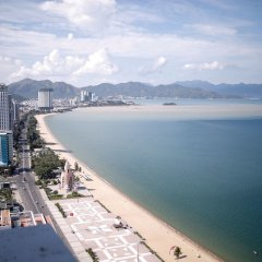 Апарт-отель Gold Ocean Nha Trang пляж фото 2