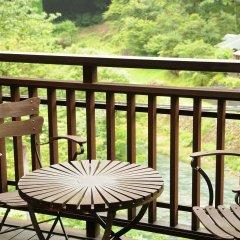 Отель Kashiwaya Ryokan Shima Onsen балкон