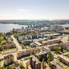 Апартаменты Local Nordic Apartments - Brown Bear Ювяскюля балкон