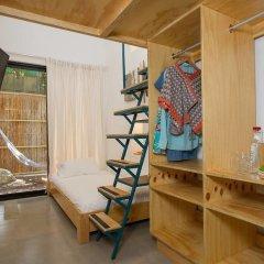 Отель Jacarandas-habitación Para 3 Personas en Mazatlán Масатлан спортивное сооружение