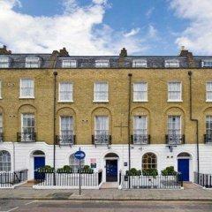 Отель Comfort Inn St Pancras - Kings Cross Великобритания, Лондон - отзывы, цены и фото номеров - забронировать отель Comfort Inn St Pancras - Kings Cross онлайн вид на фасад