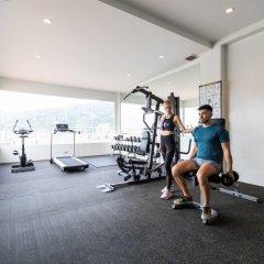 Отель Amata Patong фитнесс-зал фото 3