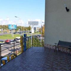 Отель Hermis Hotel Литва, Каунас - 1 отзыв об отеле, цены и фото номеров - забронировать отель Hermis Hotel онлайн балкон