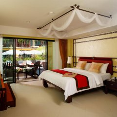 Отель Diamond Cottage Resort And Spa пляж Ката комната для гостей фото 2
