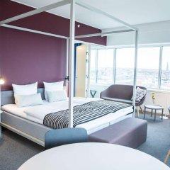 Отель Comwell Aarhus Дания, Орхус - отзывы, цены и фото номеров - забронировать отель Comwell Aarhus онлайн комната для гостей фото 5
