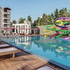 Palmiye Garden Hotel Турция, Сиде - 1 отзыв об отеле, цены и фото номеров - забронировать отель Palmiye Garden Hotel онлайн бассейн фото 2