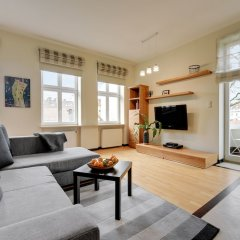 Апартаменты Lion Apartments - Parkowa 41-4 Сопот комната для гостей фото 3