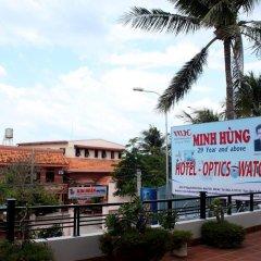 Minh Hung Hotel пляж фото 2