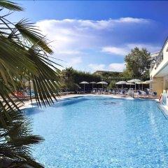 Отель Palace Meggiorato Абано-Терме бассейн
