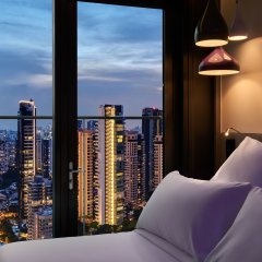 Отель YOTEL Singapore Orchard Road Сингапур комната для гостей фото 2