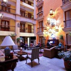 Отель Santiago De Compostela Мексика, Гвадалахара - 1 отзыв об отеле, цены и фото номеров - забронировать отель Santiago De Compostela онлайн интерьер отеля фото 2