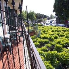 Отель Degli Amici Италия, Помпеи - отзывы, цены и фото номеров - забронировать отель Degli Amici онлайн балкон