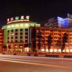 Lujiang Harbourview Hotel Xiamen Сямынь вид на фасад