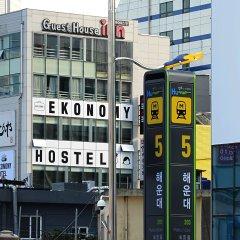 Отель Ekonomy Guesthouse Haeundae спортивное сооружение