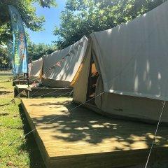 Отель Camping Paisaxe II Эль-Грове парковка