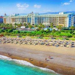 Отель Lyra Resort - All Inclusive Сиде пляж